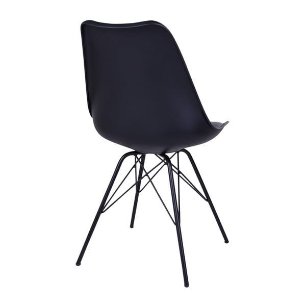 Sada 2 čiernych stoličiek House Nordic Oslo