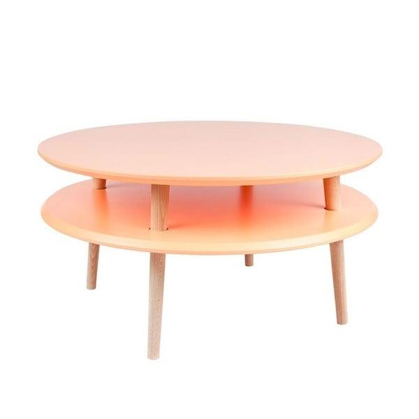 Oranžový konferenčný stolík Ragaba UFO,Ø70cm