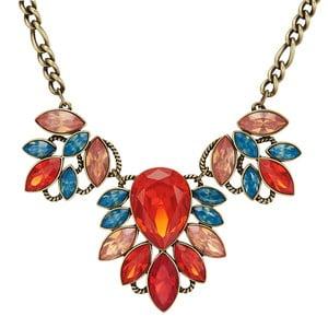 Dámsky náhrdelník bronzovej farby Runaway Tropical