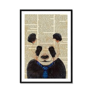 Obraz Really Nice Things Newspaper Panda, 40 × 60 cm