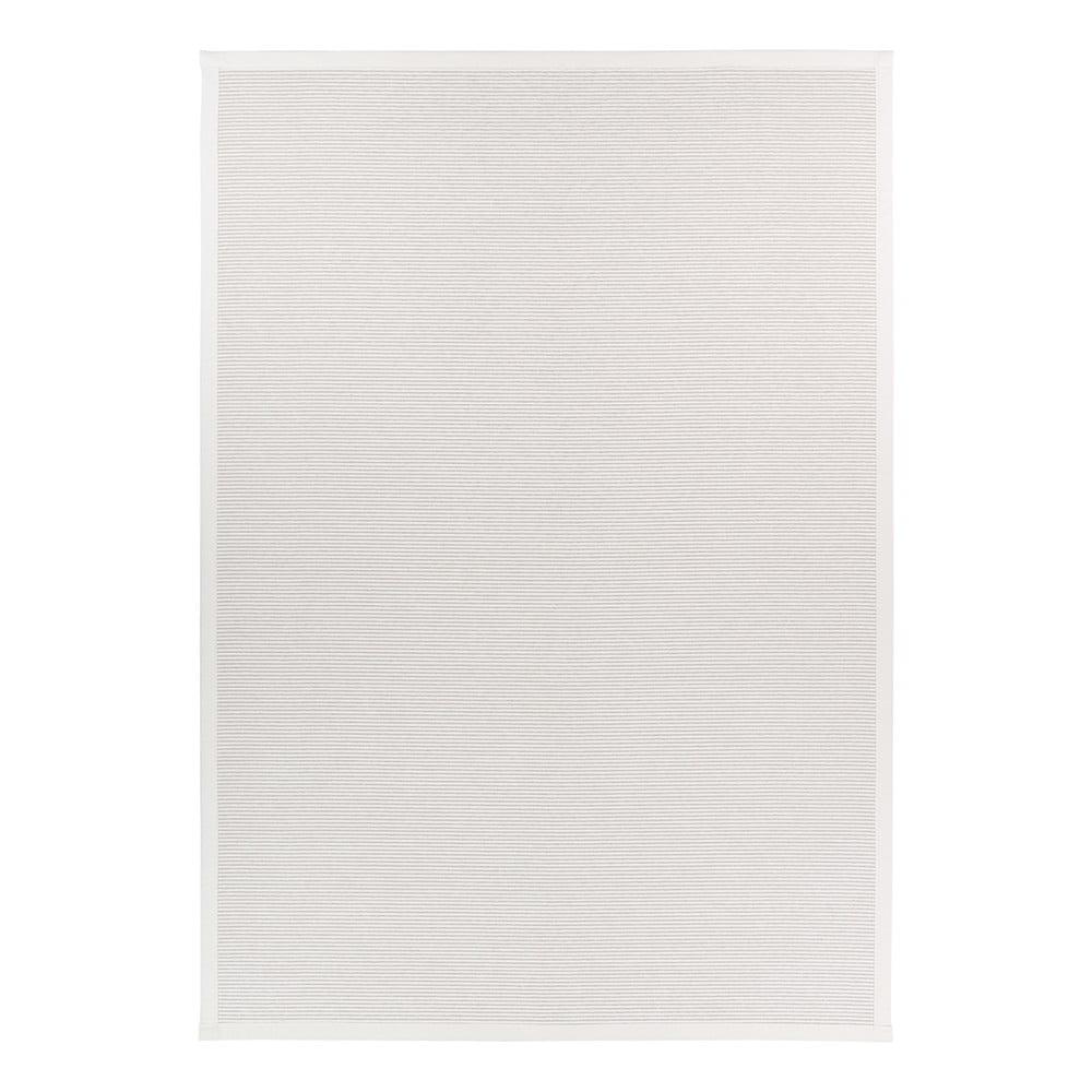 Biely obojstranný koberec Narma Kalana White, 200 x 300 cm
