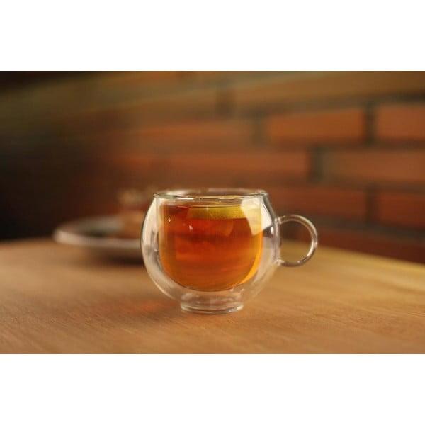 Dvojitý pohár Vialli Design Amo, 220 ml