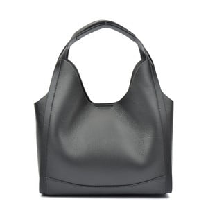 Čierna kožená kabelka Isabella Rhea Catarina