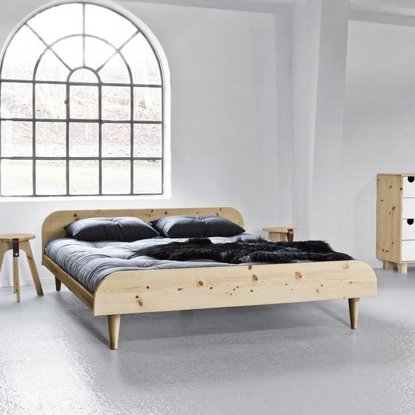 Posteľ Karup Design Twist Natural, 160 × 200 cm
