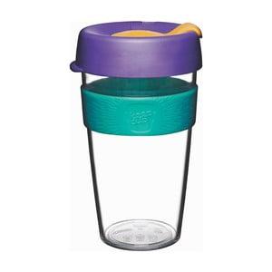 Cestovný hrnček s viečkom KeepCup Clear Edition Reef, 454 ml