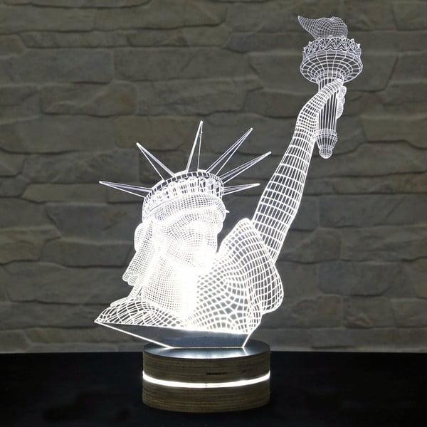 3D stolová lampa Statue of Liberty
