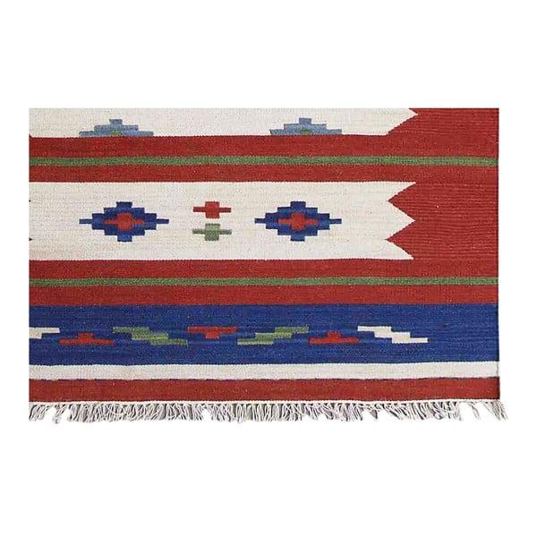 Ručne tkaný koberec Kilim Classic KL79 Mix, 125x185 cm