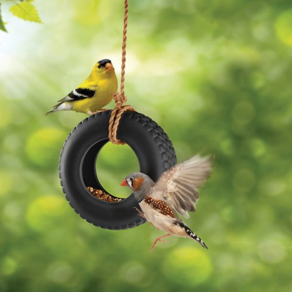 Kŕmidlo pre vtáky Fred & Friends Swing Time