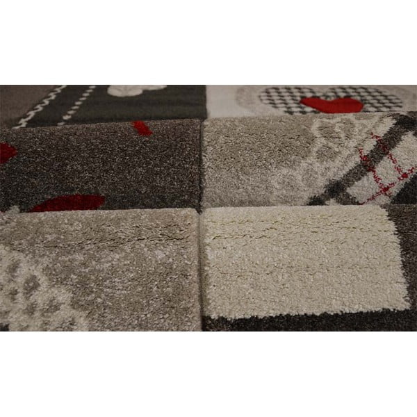 Koberec Webtappeti Intarsio Brown Cosy, 140x200cm