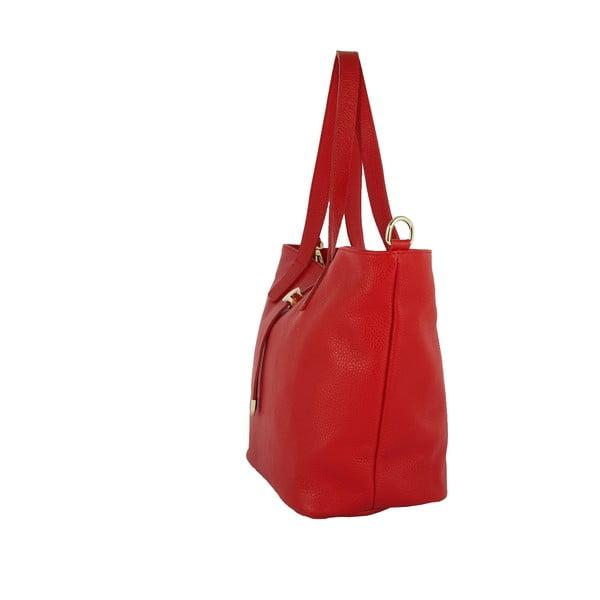 Kožená kabelka Andrea Cardone 2009 Red