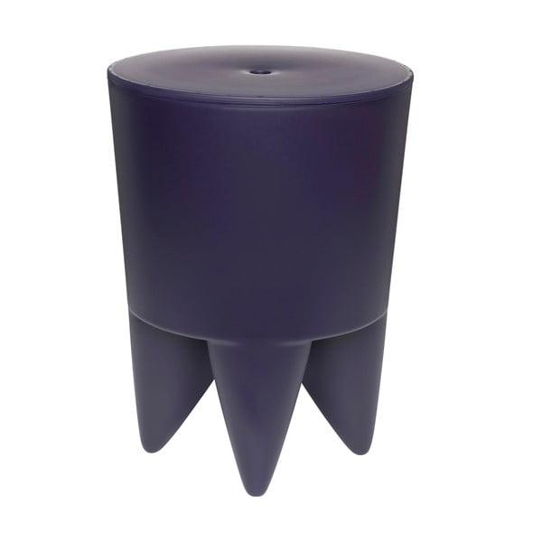 Univerzálny stolík/kôš/chladič na ľad Bubu, tmavomodrý