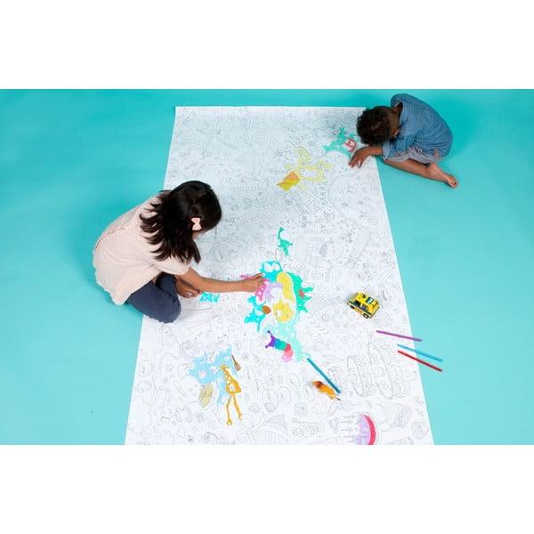 Maľovanka Fantastic, XXL (180x100 cm)