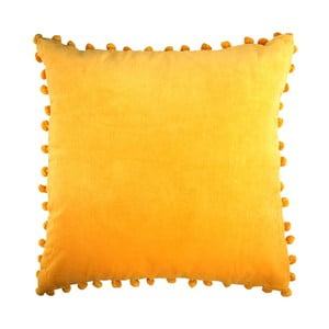 Žltý vankúš Ragged Rose Arabella Velvet