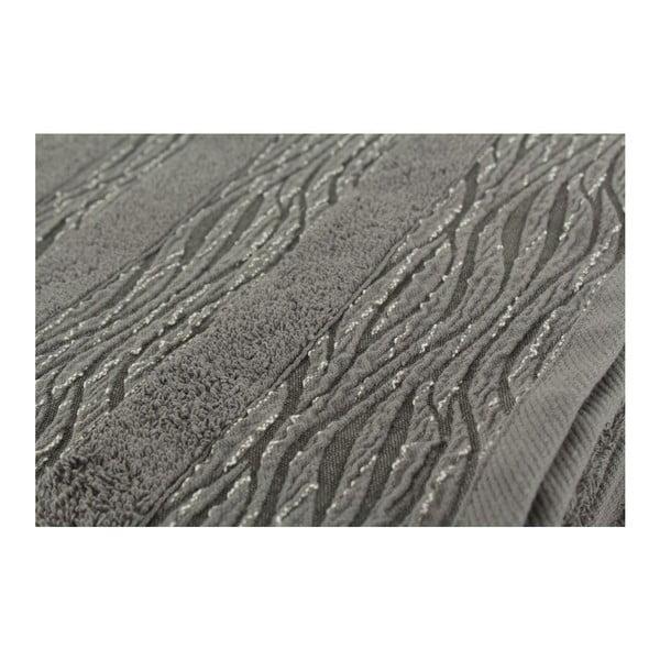 Sada 2 osušiek Cizgili Grey, 50x90 cm