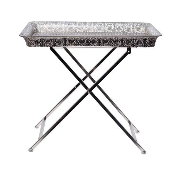 Odkladací stolík s podnosom Silver Tray