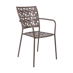 Kovová stohovateľná stolička Crido Consulting Geo