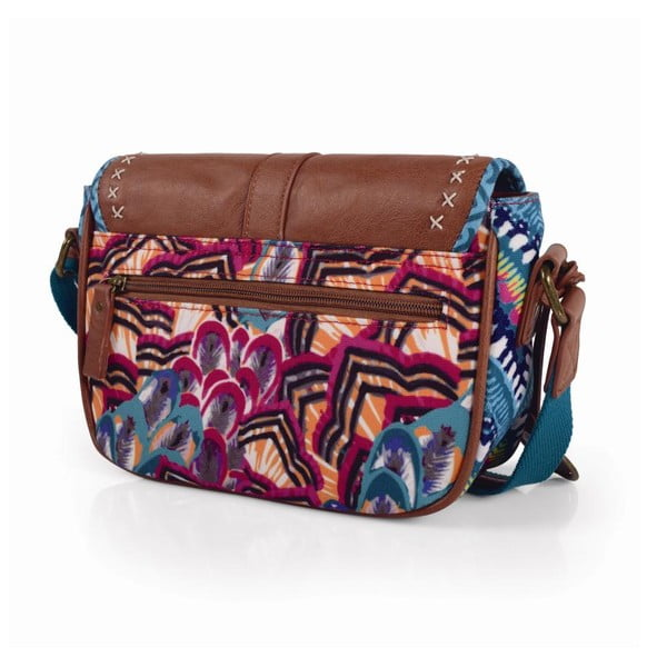 Pestrofarebná kabelka SKPA-T, 24 x 17 cm