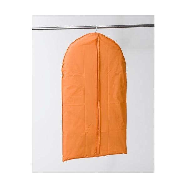 Textilný závesný obal na šaty Compactor Garment Orange, 100 cm