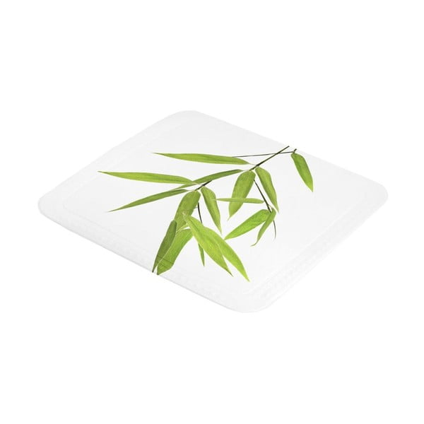 Kúpeľňová predložka Bamboo Green, 55x55 cm