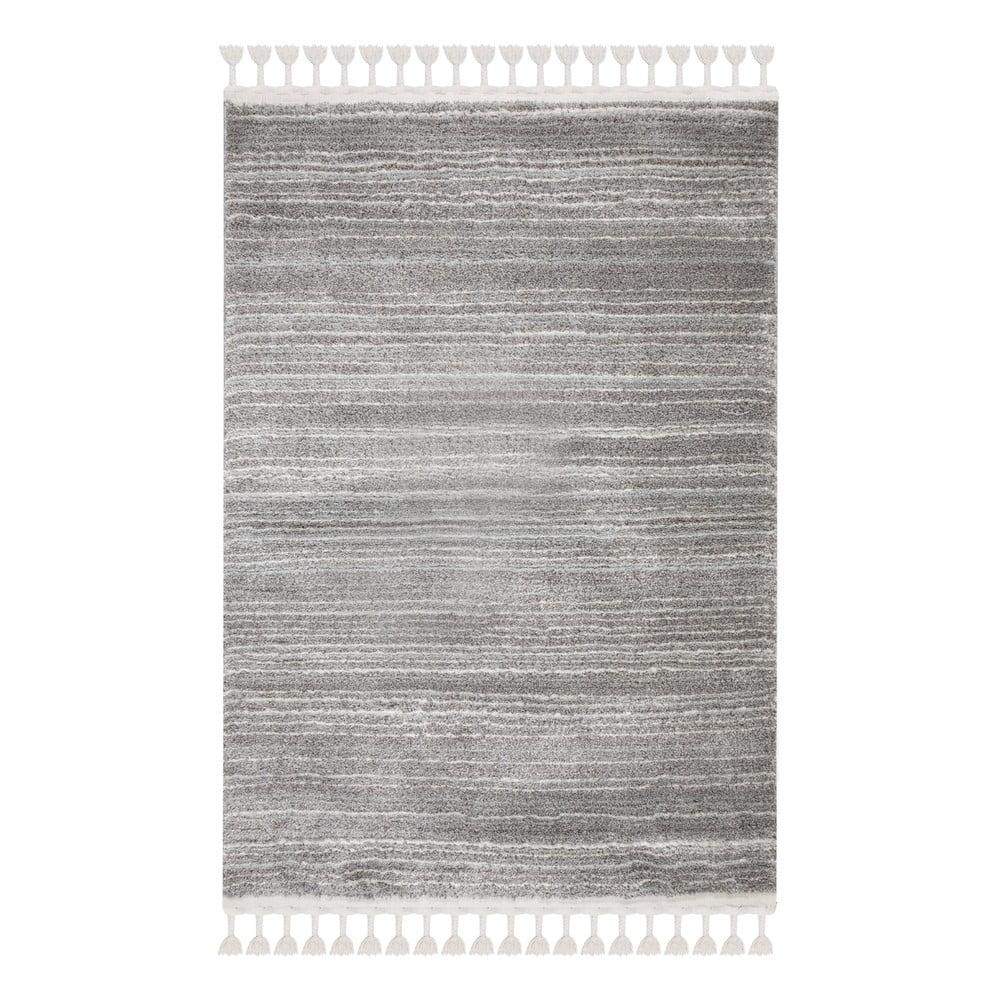 Sivo-krémový koberec Flair Rugs Holland, 80 x 150 cm