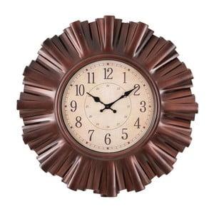 Nástenné hodiny Clock In Brown
