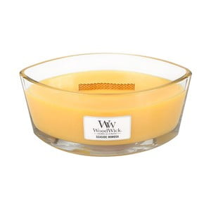 Sviečka s vôňou citrusov a šampanského Woodwick Prímorský koktail, doba horenia 80 hodín