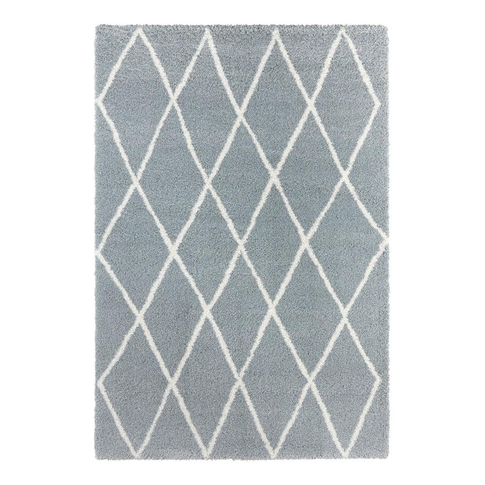 Modrý koberec Elle Decor Passion Abbeville, 80 × 150 cm