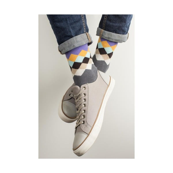 Sada 2 párov unisex ponožiek Funky Steps Jive, veľkosť 39/45