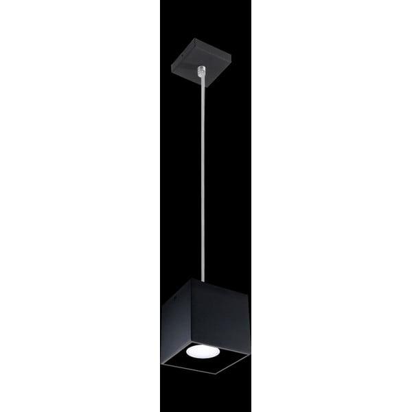 Čierne závesné svetlo Nice Lamps Geo 1