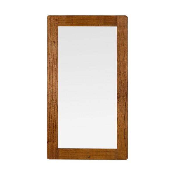 Nástenné zrkadlo z dreva Mindi Moycor Flash