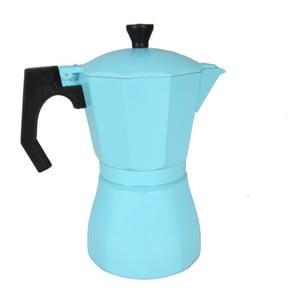 Svetlomodrá mokka kanvička JOCCA Coffee Maker, 385 ml