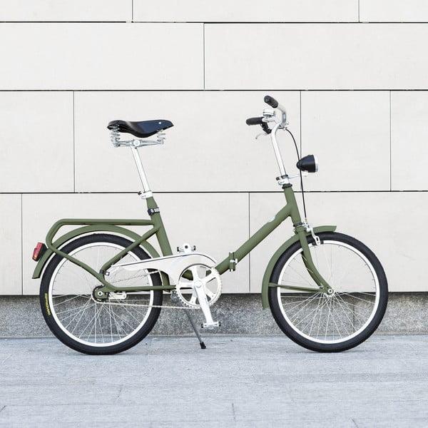 Skladací bicykel Dude Bike Top, zelený