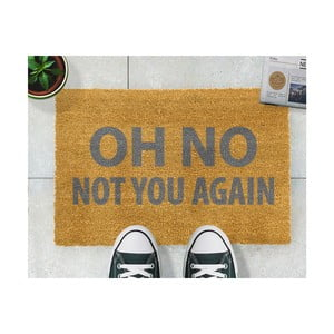 Rohožka Artsy Doormats Oh No Not You Again Grey, 40 × 60 cm