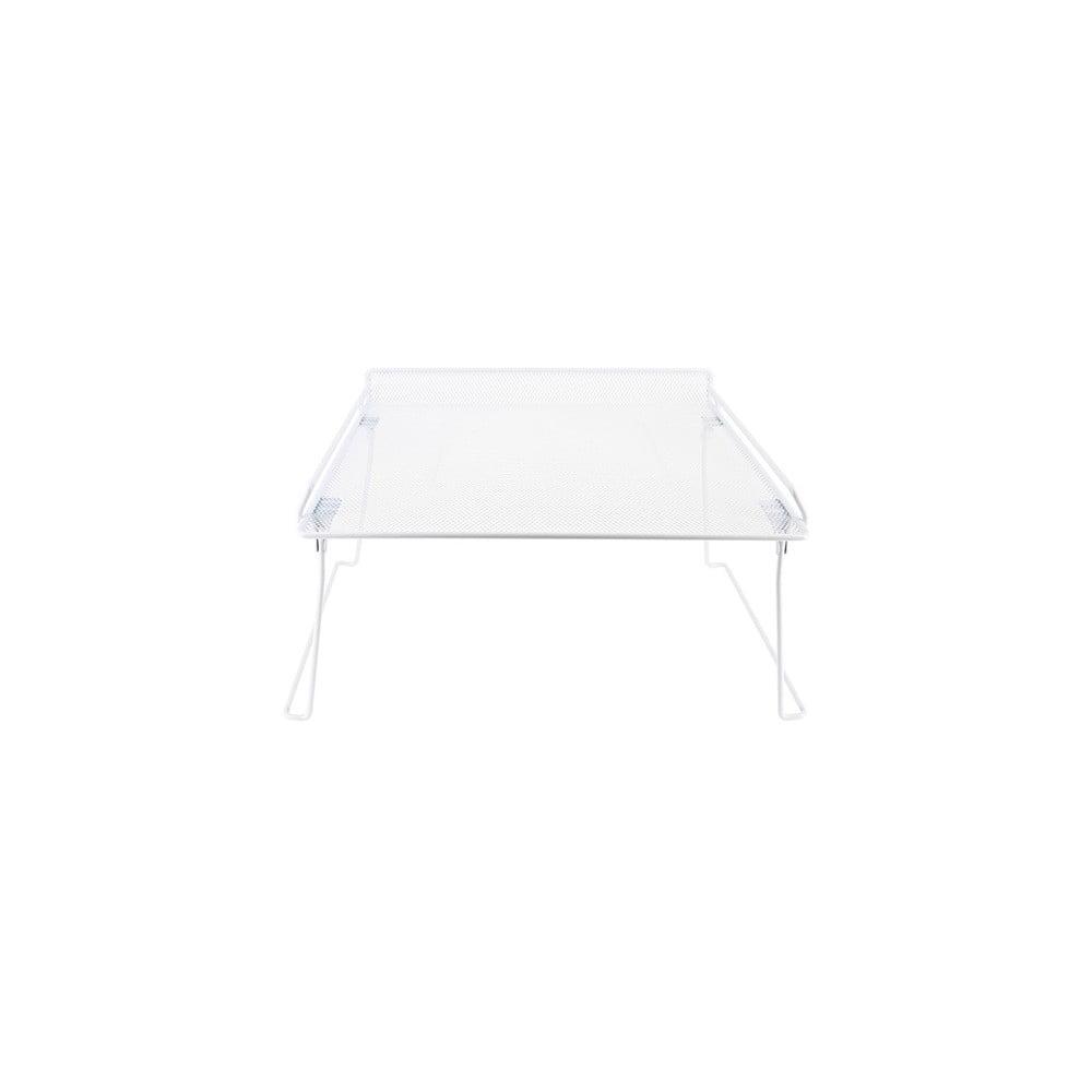 Biela rozložiteľná polička do skrine na oblečenie Compactor Stackable Rack