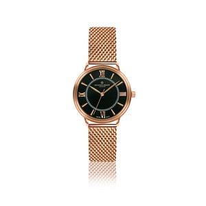 Dámske hodinky s remienkom z antikoro ocele vo farbe ružového zlata Frederic Graff Zoe