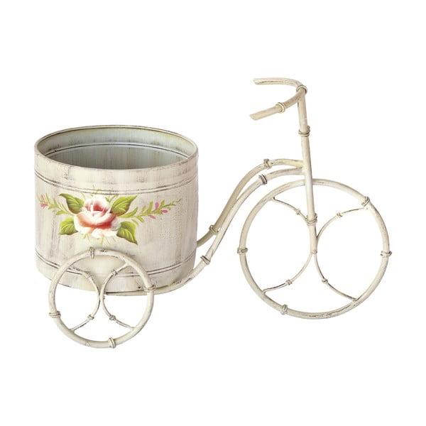 Kvetináč na bicykli Bettina Patina