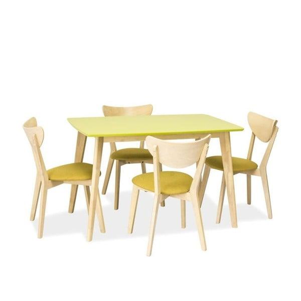 Jedálenský stôl Combo, zelený