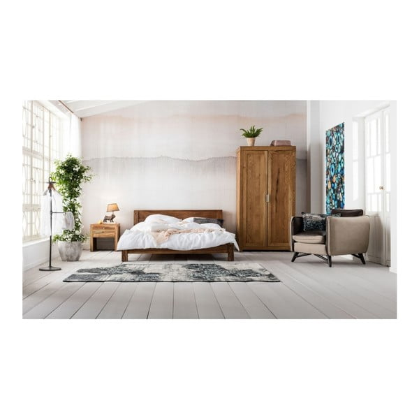Posteľ z exotických drevín Kare Design Authentico Bett, 160×200cm