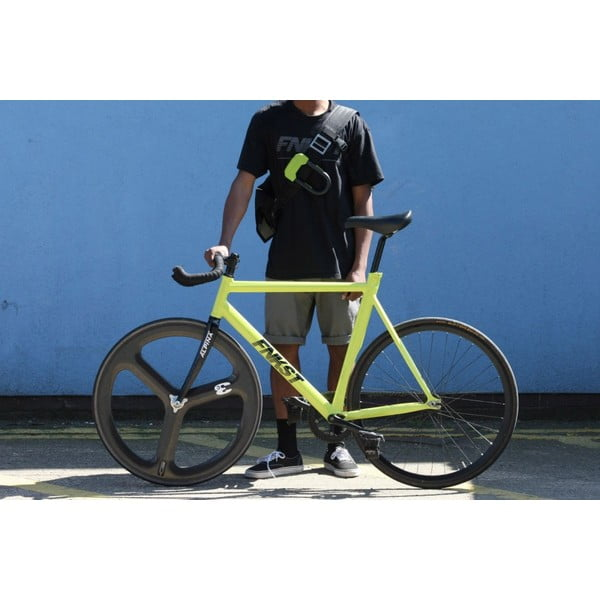 Zámok na bicykel Hiplok D, cyan