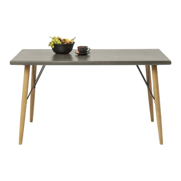 Jedálenský stôl Kare Design Factory, 140×80 cm