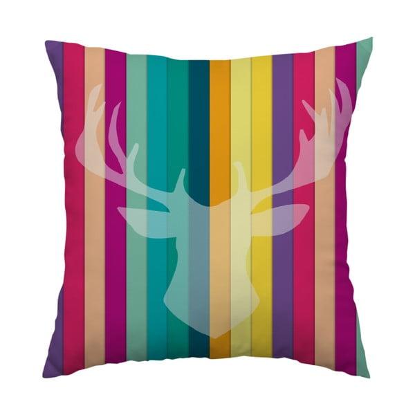 Vankúš Color Deer, 40x40 cm