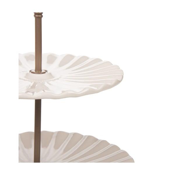 Dvojposchodový stojan Alzata, 23 cm