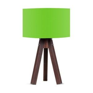 Stolová lampa so zeleným tienidlom Kate Louise Kahve