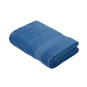 Tmavomodrý bavlnený uterák Bella Maison Basic, 50×90 cm