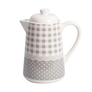 Kávová kanvica Grey Dots&Checks