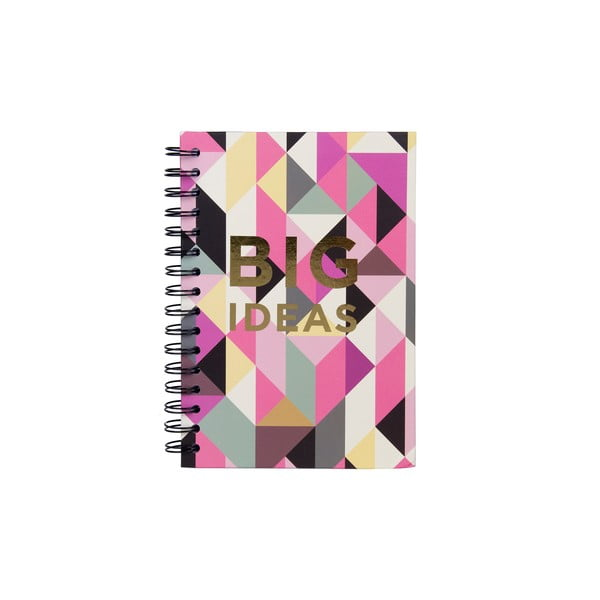 Špirálový zápisník Tri-Coastal Design Big Ideas Geo