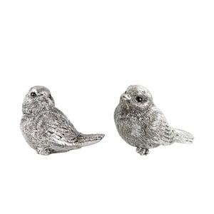 Sada 2 dekoratívnych vtáčikov KJ Collection