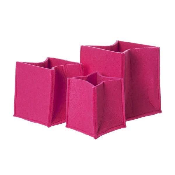 Skladacie koše Present Time Mellow Pink