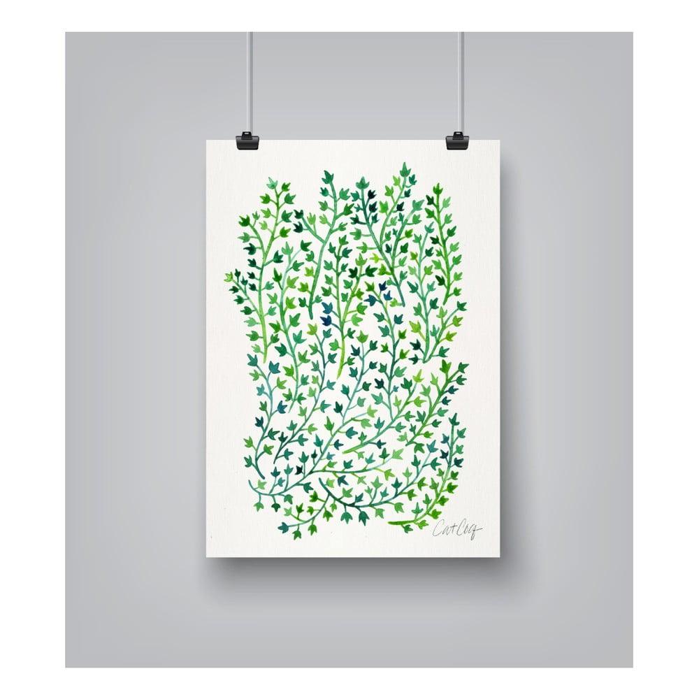 Plagát Americanflat Greenivy, 30 x 42 cm
