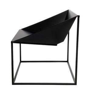 Čierna stolička vhodná do exteriéru TemaHome Tavares
